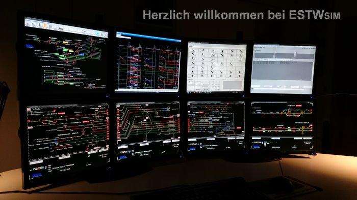 Elektronisches stellwerk simulation dating
